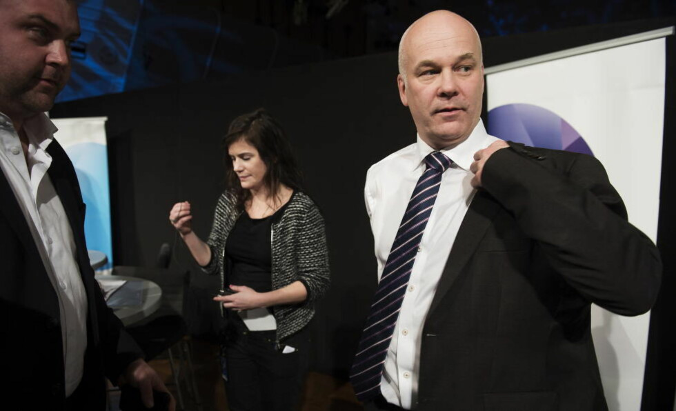 IKKE PÅ MEDIESJEF-TOPPEN: NRK-sjef Thor Gjermund Eriksens superlønn skyldes avisfusjonen han ledet i 2012. Foto: Øistein Norum Monsen / DAGBLADET