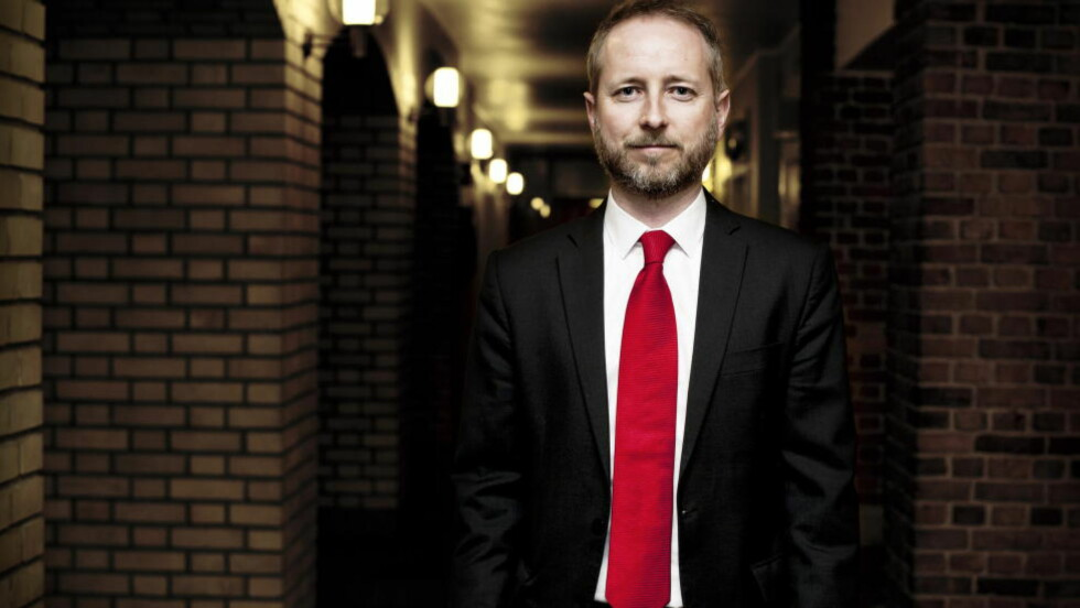 ØNSKER BREDT MEDIEFORLIK: Bård Vegar Solhjell forstår ikke hvorfor KrF og Venstre ikke kan forhandle med hele Stortinget. Foto: Melisa Fajkovic / Dagbladet