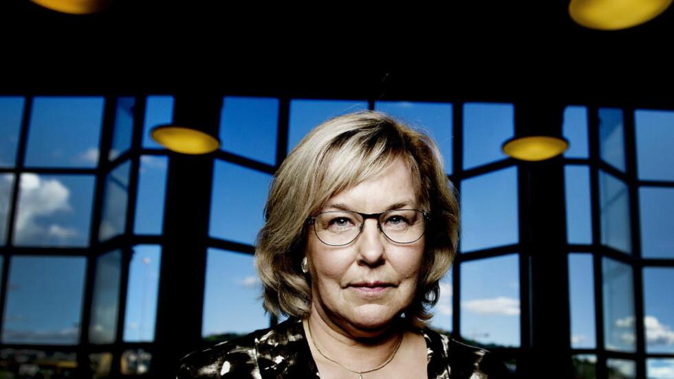 BEDRE OG BEDRE: Monica Kristensen har skrevet fem kriminalromaner, og hun blir bare bedre og bedre. Foreløpig er hennes nye roman høstens beste for Dagbladets krimekspert. Foto: John T. Pedersen / Dagbladet