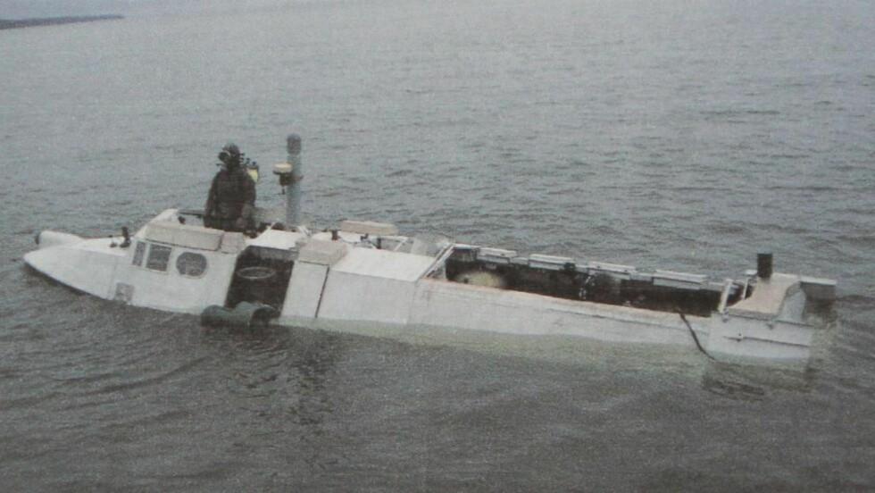 MINIUBÅT: Den svenske marinen leter angivelig etter en russisk miniutbåt av typen Triton-NN.