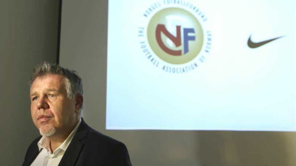 GLAD: Generalsekretær i Norges Fotballforbund, Kjetil Siem, er glad for tiltalen i kampfiksingssaken og mener det har vært en oppvåkning. Foto: Vidar Ruud / NTB scanpix