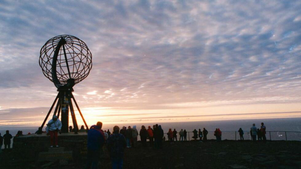 TOPP TI: Lonely Planet har plukket ut Nord-Norge som én av verdens ti beste regioner å besøke neste år. Her fra Nordkapp. Foto: JOHN TERJE HANSEN