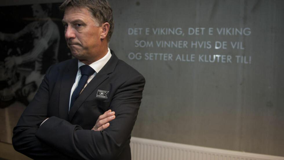 NY ASSISTENT: Eliteserieklubben Viking presenterte onsdag Kjell Jonevrets nye assistenttrener fra neste sesong. Foto: Carina Johansen  / NTB Scanpix