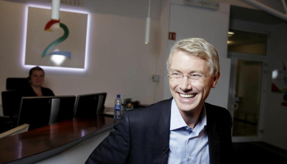 SE HVA SOM SKJER: Olav Terjeson Sandnes er ny sjefredaktør og administrerende direktør i TV 2. Foto: Paul S. Amundsen / NTB scanpix