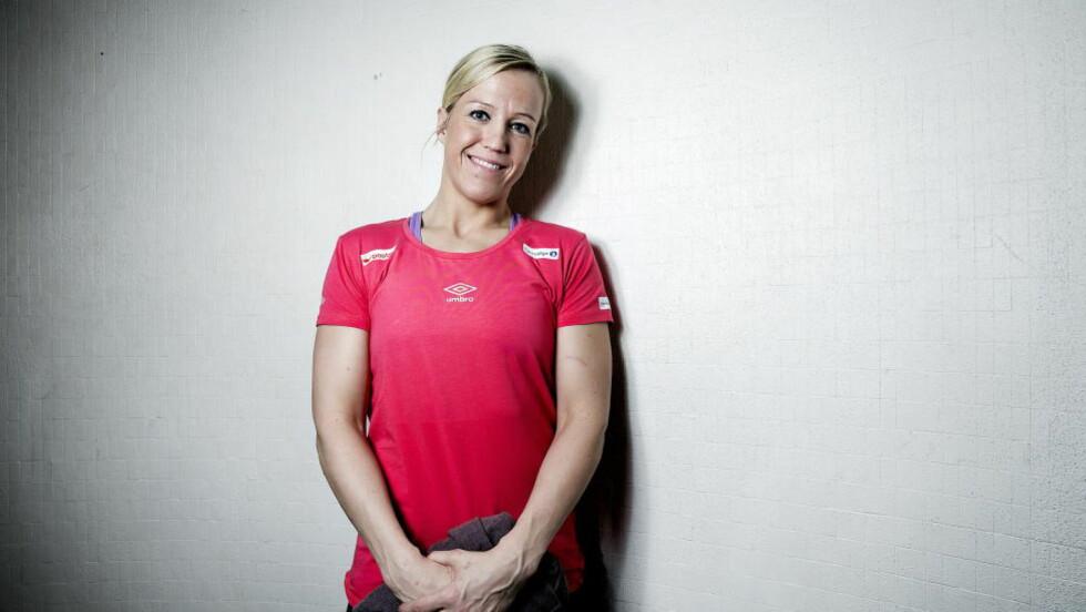 TILBAKE: Heidi Løke har meldt seg klar for landslagstjeneste igjen, etter å ha hatt pause siden juli.  Foto: Bjørn Langsem