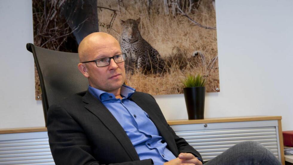 ENGASJERT:  Advokat Stig Nilsen er bistandsadvokat til Kristina Sviglinskajas, i den såkalte Monika-saken. Han var ikke fornøyd med politiets arbeid i saken, så han engasjerte privatetterforsker til å se over saken på nytt, som igjen førte til at saken ble gjenopptatt. Foto: Tor Erik H. Mathiesen / Dagbladet.