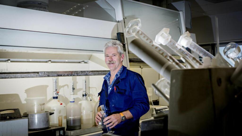 VIL GÅ AV: Almar Lunde (58) er sliten av å jobbe nattevakter og vil gå av med pensjon ved fylte 62 år. Les intervju med Lunde lenger ned i saken.  Foto: Anita Arntzen