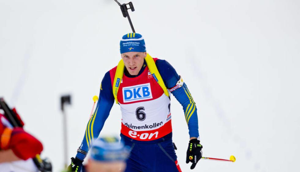 BOKBOMBE: Björn Ferry ga seg som skiskytter etter sist vinter. Neste måned kommer hans bokbombe om skiskyttermiljøet, hvor han blant annet lover å komme med avsløringer om flere av de norske skiskytteressene. Foto: Vegard Grøtt / NTB Scanpix