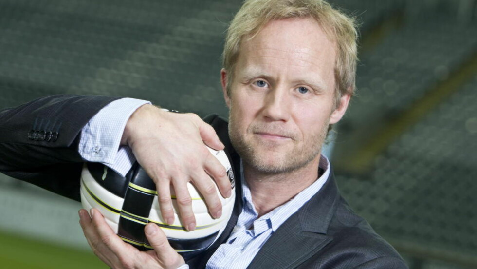 KLAGES INN: Bernt Olufsen reagerer på at TV 2-kommentator Øyvind Alsaker ble brukt i Lotto-reklame. Foto: Scanpix