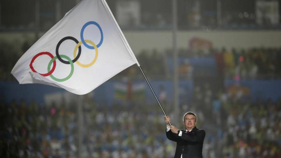 IOC-LEDER:  Thomas Bach. Foto: NTB Scanpix