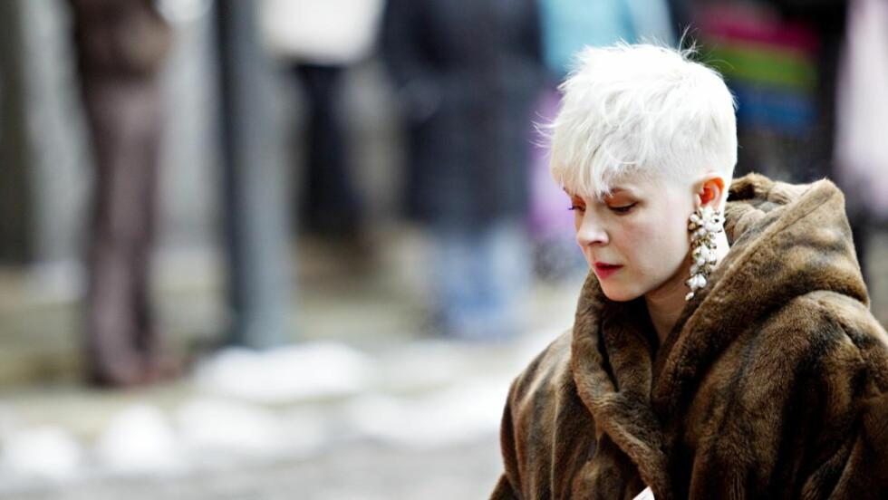 "FESTGLAD: Robyn har et enorm potensiale som drikkekompanjong, tror Martin Bjørnersen i ukas utgave av ""Vers"". Foto: Nina Hansen / Dagbladet"