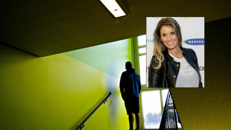 FORSØKT LOKKET AV «STETOSKOPMANNEN»: Thea Bråten Christensen (25), kjent fra «Paradise Hotel» på TV3 i 2010, ble forsøkt lokket til «helseundersøkelse» hos en danske (25) som tidligere er dømt for å ha befølt over 20 unge jenter i Danmark. Foto: Anita Arntzen/Privat