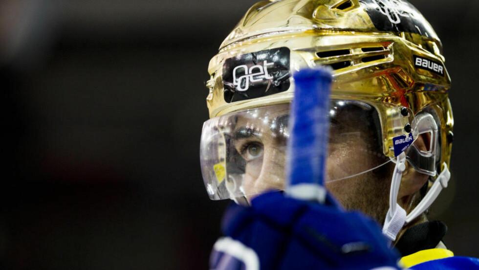 STORSPILTE:  Christian Larrivée  var heit i kveldens kamp mot Stjernen. Foto: NTB Scanpix