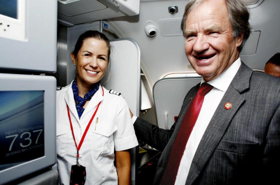 Bjørn Kjos: Ser frem til at Dreamliner-problemene tar slutt. Foto Kristin Svorte/Dagbladet
