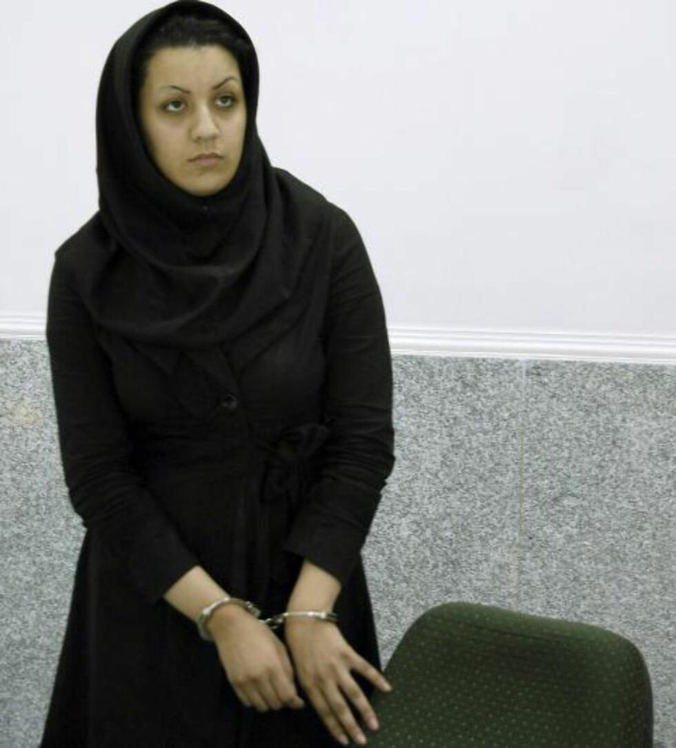 <strong>DØD:</strong> Reyhaneh Jabbari (26). Foto: Golara Sajadian/Parspix/ABACAPRESS.COM/NTB Scanpix