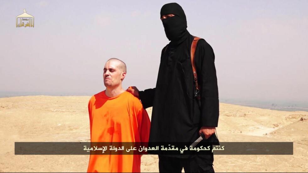 HENRETTET :  Amerikaneren James Foley var fange hos Den islamske stat. Amerikanerne nektet å betale løsepenger, og Foley ble halshogd.