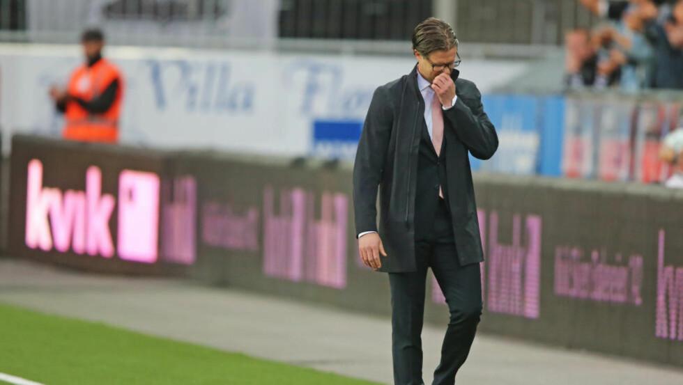 FERDIG: Om Brann rykker ned, Er Rikard Norling ferdig i klubben, tror Morten Pedersen. Foto: Trond Reidar Teigen / NTB scanpix