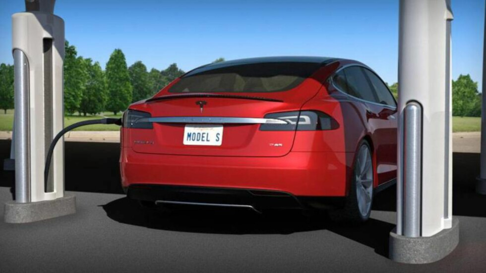STÅR HØYT I KURS: Tesla har hatt en formidabel vekst på kort tid.  Foto: TESLA