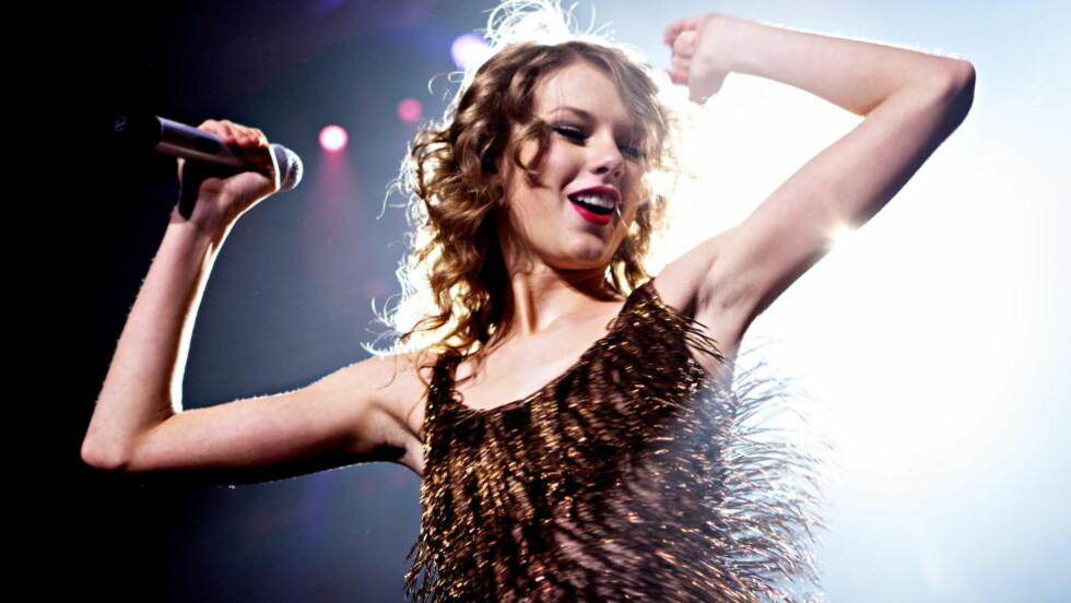 SHAKE IT OFF:  Taylor Swift vet godt at hun lager kvalitetspop. Her fra konserten i Oslo Spektrum i 2013. Foto: Lars Eivind Bones / Dagbladet
