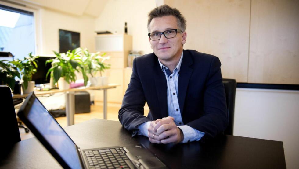 FORNØYD: Direktør Bjørn Erik Thon i Datatilsynet er godt fornøyd med hvordan de nye reglene for å kikke i skattelistene har fungert. Foto: Øistein Norum Monsen/Dagbladet.
