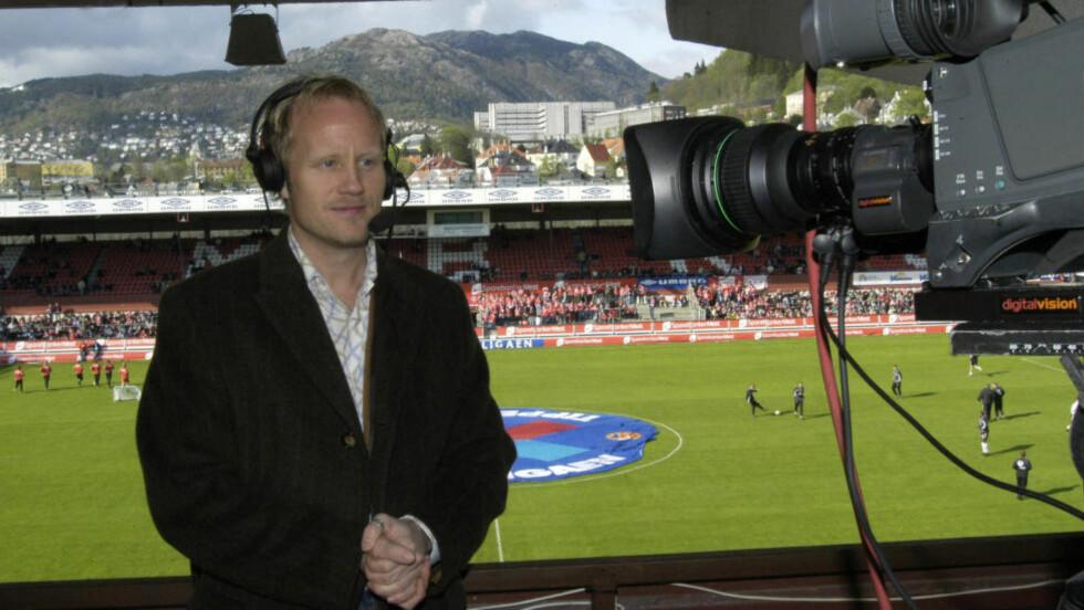 BRUDD PÅ PRESSEETIKKEN: PFU feller TV 2 for å låne ut sportskommentator Øyvind Alsakers stemme til reklamebruk. Foto: Scanpix