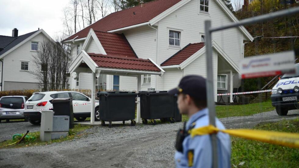 DRAP I ASKER: Kvinne drept på institusjonen Behandlingssenteret Små Enheter i Asker. Tenåringsjente siktet. Foto: Benjamin A. Ward / Dagbladet