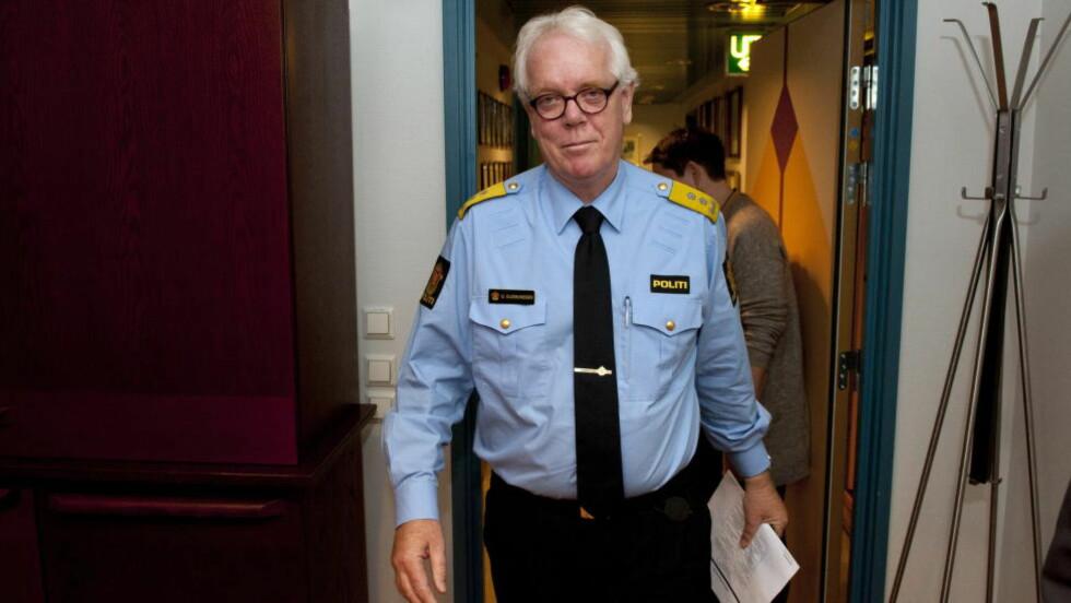 VARSLER ENDRINGER: Politimester Geir Gudmundsen i Hordaland politidistrikt. Foto: Tor Erik H. Mathiesen