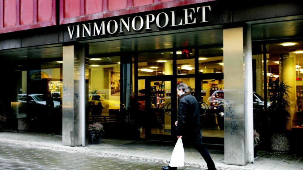 ÅPNINGSTIDER:  88 prosent av oss mener det ikke er viktig at Vinmonopolet er åpent på julaften. Det kommer fram i en ny undersøkelse. Foto: Jeanette Landfald/Dagbladet.