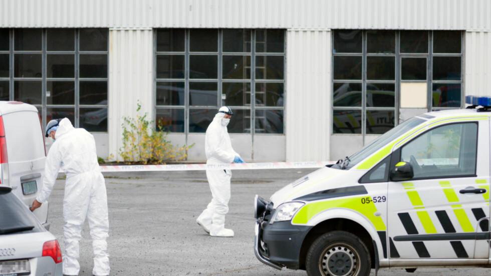 ETTERFORSKES SOM DRAP:   Politiet etterforsker det de omtaler som et mistenkelig dødsfall etter at en kvinne ble funnet død i Hamar tirsdag ettermiddag. Foto: Jo Espen Brenden / NTB scanpix