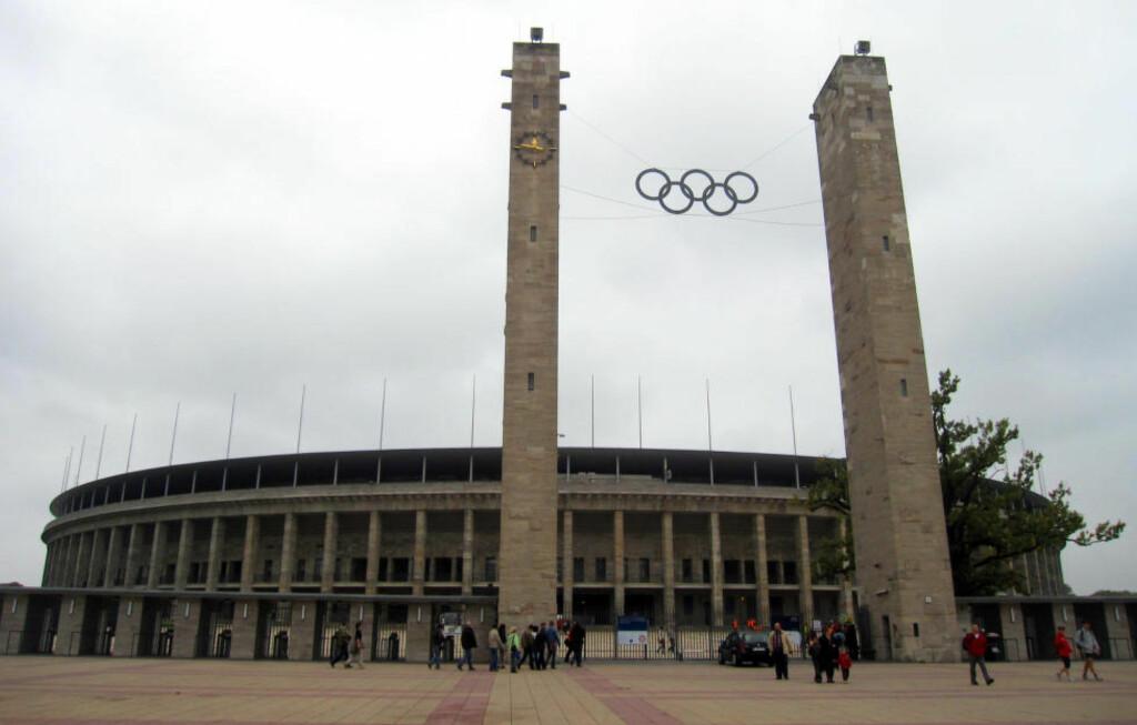 1936: Olympiastadion i Berlin hvor lekene ble avholdt i 1936. Tyskland kommer til å søke om å få arrangere sommer-OL i 2024, ved enten Berlin og Hamburg. Foto: NTB Scanpix