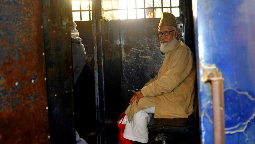 DØMT TIL DØDEN: Motiur Rahman Nizami (70). Foto: AFP / STR / NTB scanpix