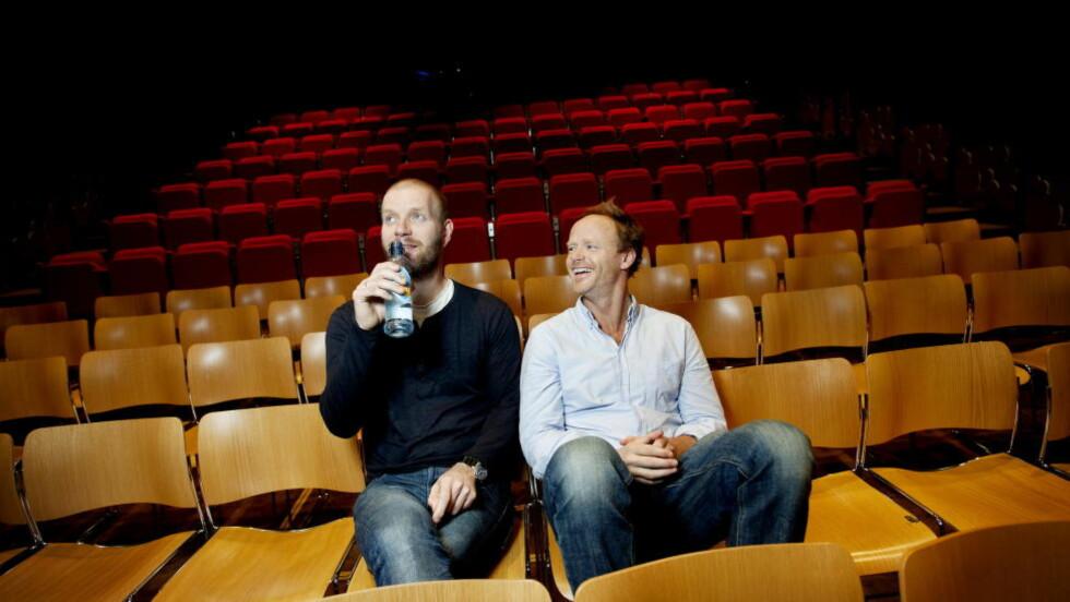 NYTT SHOW: Bård Tufte Johansen og Harald Eia kommer med to programmer på TVNorge til neste år. Foto: Anita Arntzen / Dagbladet