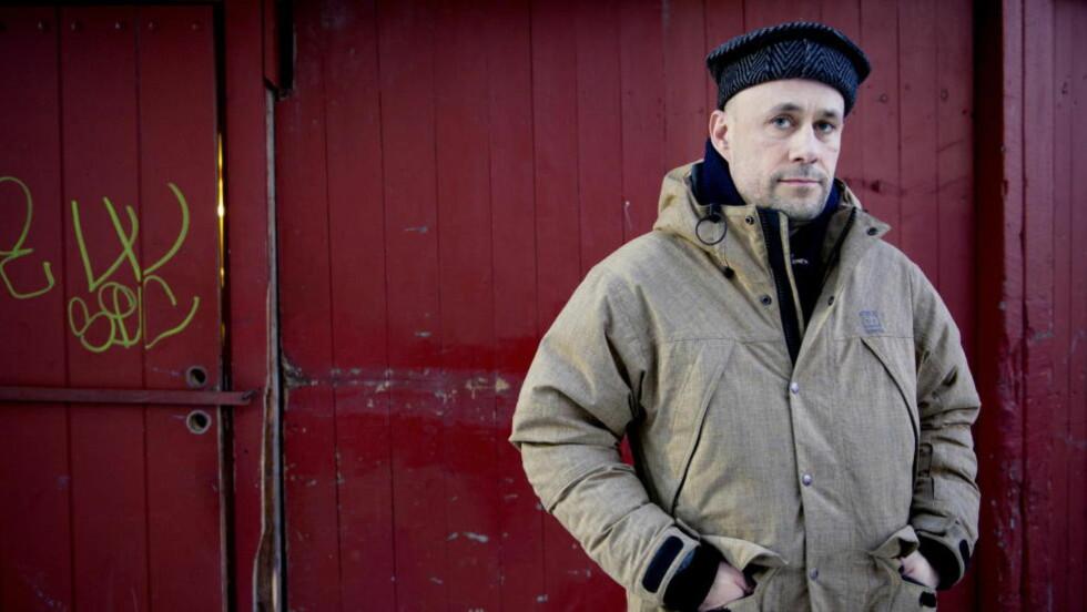 VANT: Benedikt Erlingsson (bildet) og produsenten Friðrik Þór Friðriksson mottok Nordisk råds filmpris i kveld. Foto: Ingun A. Mæhlum