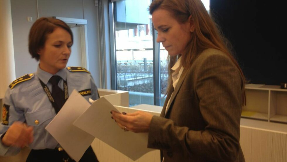 I RETTEN: Politiadvokat Iselinn Håvarstein og forsvarer Cecilie Nakstad.