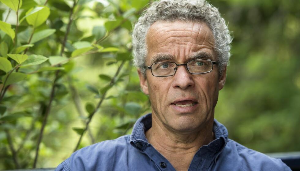 VIL HA FLAT KLIMABELØNNING: Rasmus Hansson mener Venstre og Frps modell for det grønne skiftet er lite hensiktsmessig for å få folk til å handle miljøvennlig. Foto: Øistein Norum Monsen