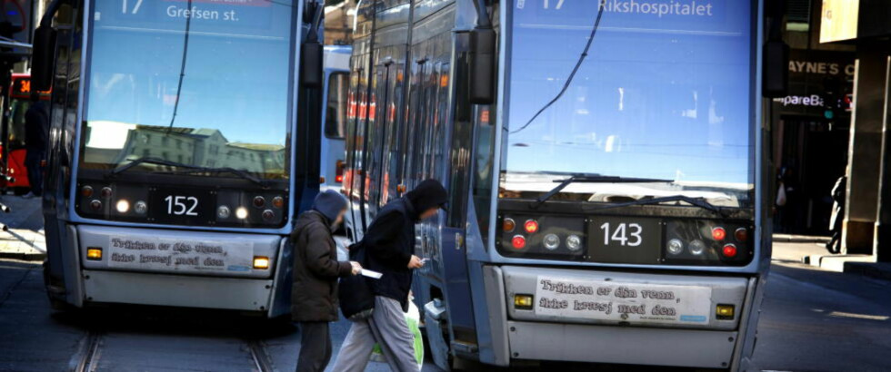 MER SNIKING: Ruter mener oslofolk sniker mer enn de trodde. Derfor vil de skru opp boten. Foto: Jacques Hvistendahl /Dagbladet