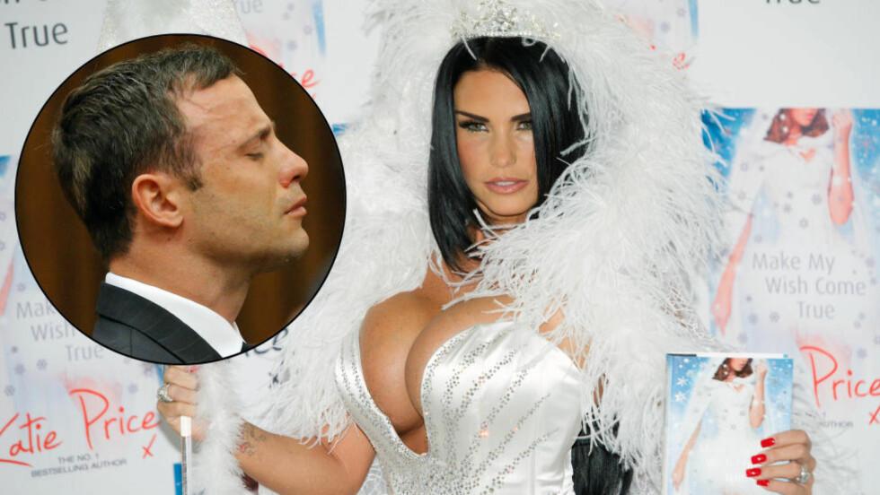 SENDTE MELDINGER: Oscar Pistorius sendte direktemeldinger via Twitter til Katie Price under rettssaken i april, hevder glamourmodellen. Foto: Foto: Stella Pictures / EPA/KIM LUDBROOK / NTB SCANPIX