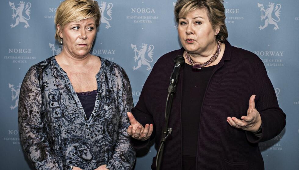 EN DAG DA ALT GIKK GALT: KrF brøt forhandlingene, Mulla Krekar ble løslatt og Listhaug måtte snu om flyktningene over Storskog. Foto: NTB Scanpix