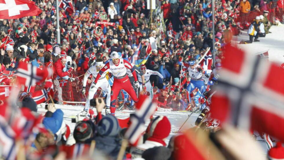 LITE OL-IVER:  Det har aldri stått så dårlig til med folkets OL-iver enn i juni måned. Foto: BJØRN LANGSEM