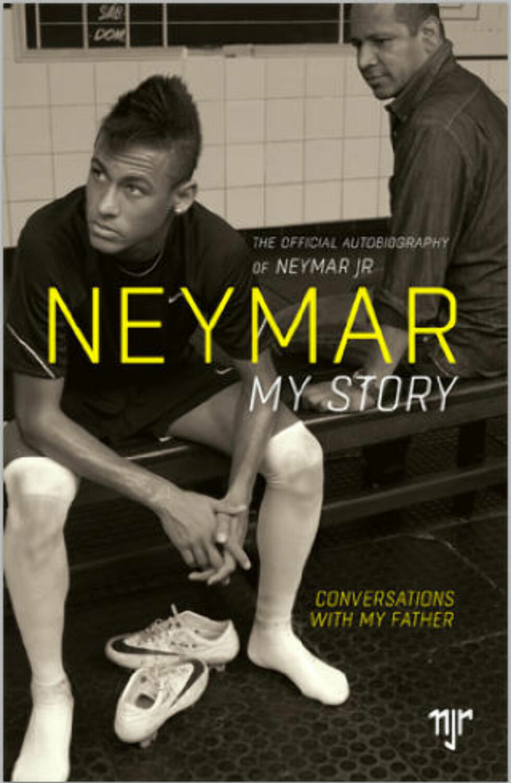 BOK: I Neymars «Min historie», her den britiske utgaven, går faren i detalj om besøket i Real Madrid.