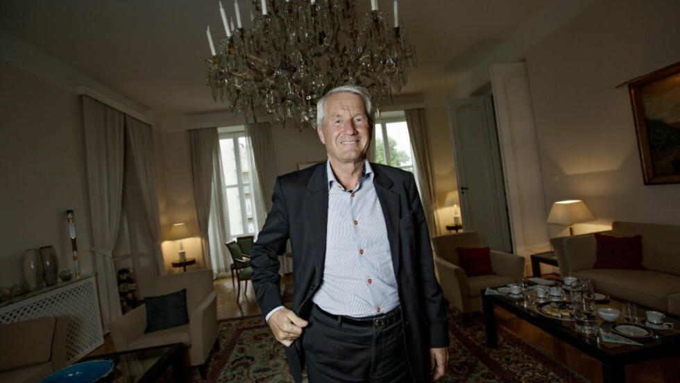 VANT : Thorbjorn Jagland ble historisk da han i ettermiddag ble gjenvalgt som generalsekretær i Europaråde. Foto: Anita Arntzen