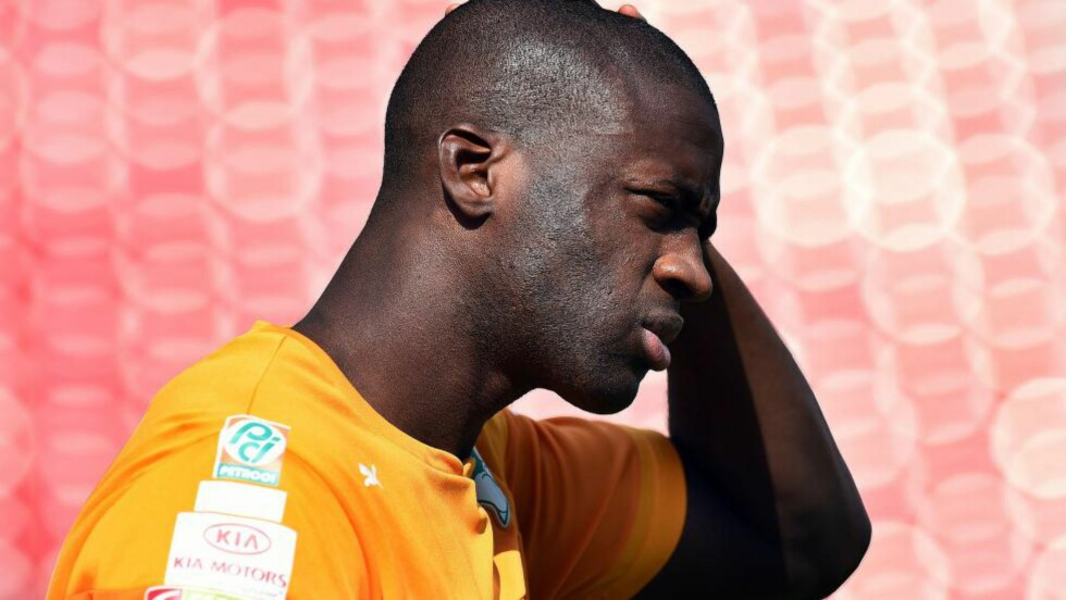 FRUSTRERT:  Yaya Toure føler seg dårlig behandlet av Mancehster City. Foto: NTB Scanpix