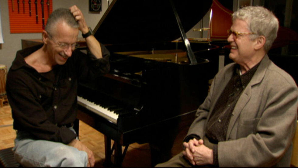 GAMLE VENNER: Keith Jarrett og Charlie Haden har en lang felles fortid, og med «Last Dance» er de ute med duoalbum nummer to, fra samme session som avstedkom «Jasmine» i 2010. FOTO: RETO CADUFF/ECM
