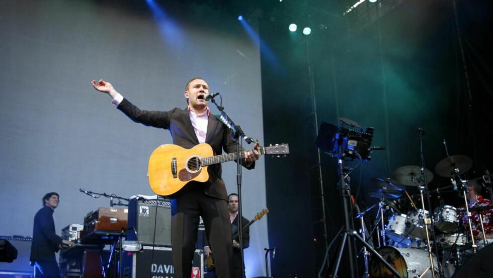 TILBAKE: Det har vært stille rundt David Gray siden hans 2010-album «Foundling», men nå er han tilbake. Her er han på Norwegian Wood i Frognerparken i 2006. Foto: Hans A. Vedlog / Dagbladet