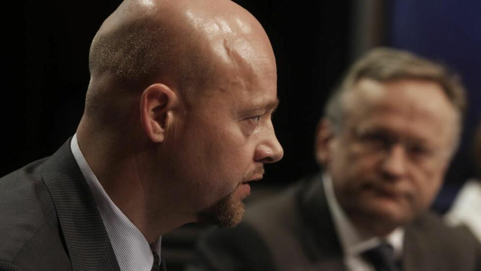 ANSETTER: Sjef for Statens pensjonsfond utland, Yngve Slyngstad, varsler ansettelser. Foto: Hans Arne Vedlog / Dagbladet