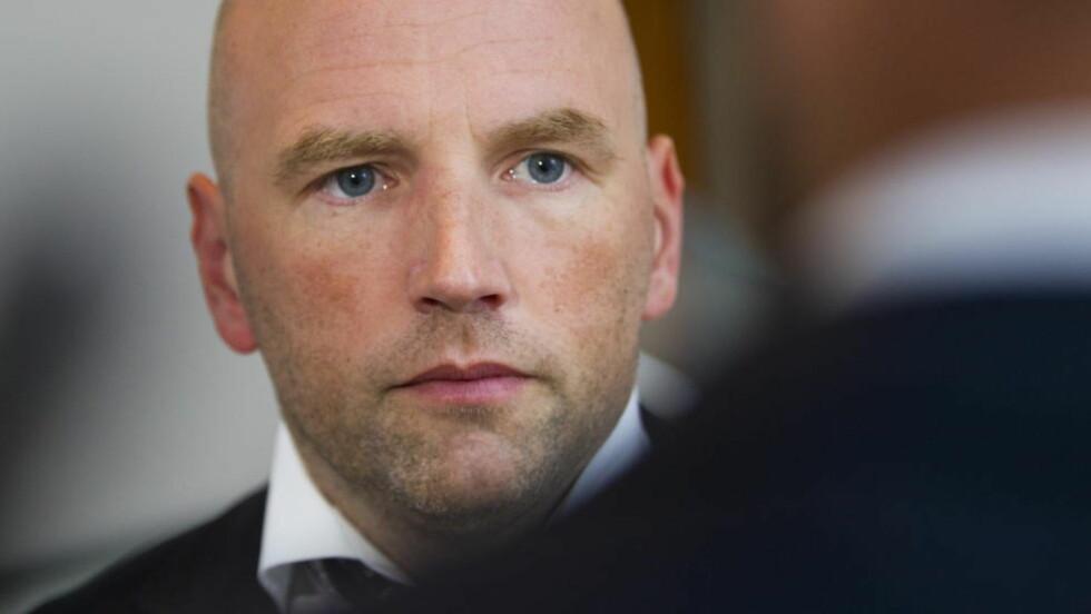 NEKTER SKYLD:  27-åringens forsvarer, advokat Brynjar Meling, sier klienten ikke har gjort noe galt. Foto: Thomas Winje Øijord / Scanpix