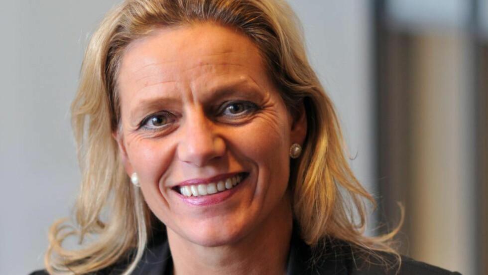 IKKE ENIG:  Konserndirektør i Manpower, Sølvi Spilde Monsen, mener norsk ungdom vet hvor viktig det er å få tidlig jobberfaring.