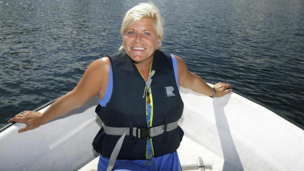 GRUNN TIL Å SMILE: Fremskrittspartiet og partileder Siv Jensen går fram på meningsmåling. Foto: Berit Roald / NTB scanpix
