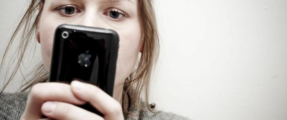 BESKYTTET: Amerikansk høyesterett mener mobilbrukere må beskyttes. Foto: Thomas Rasmus Skaug  / Dagbladet