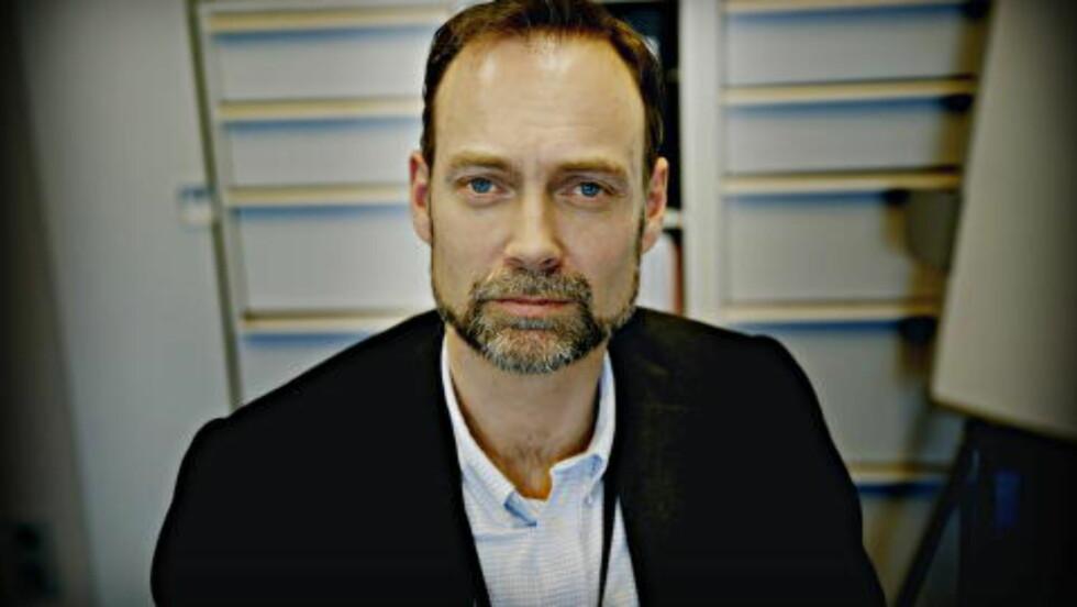 LEDER: Harald Bøhler leder Oslo-politiets avsnitt som for bekjempelse av menneskehandel og prostitusjon. På fem år er 404 bordeller avdekket og stengt. Foto: Jacques Hvistendahl / Dagbladet